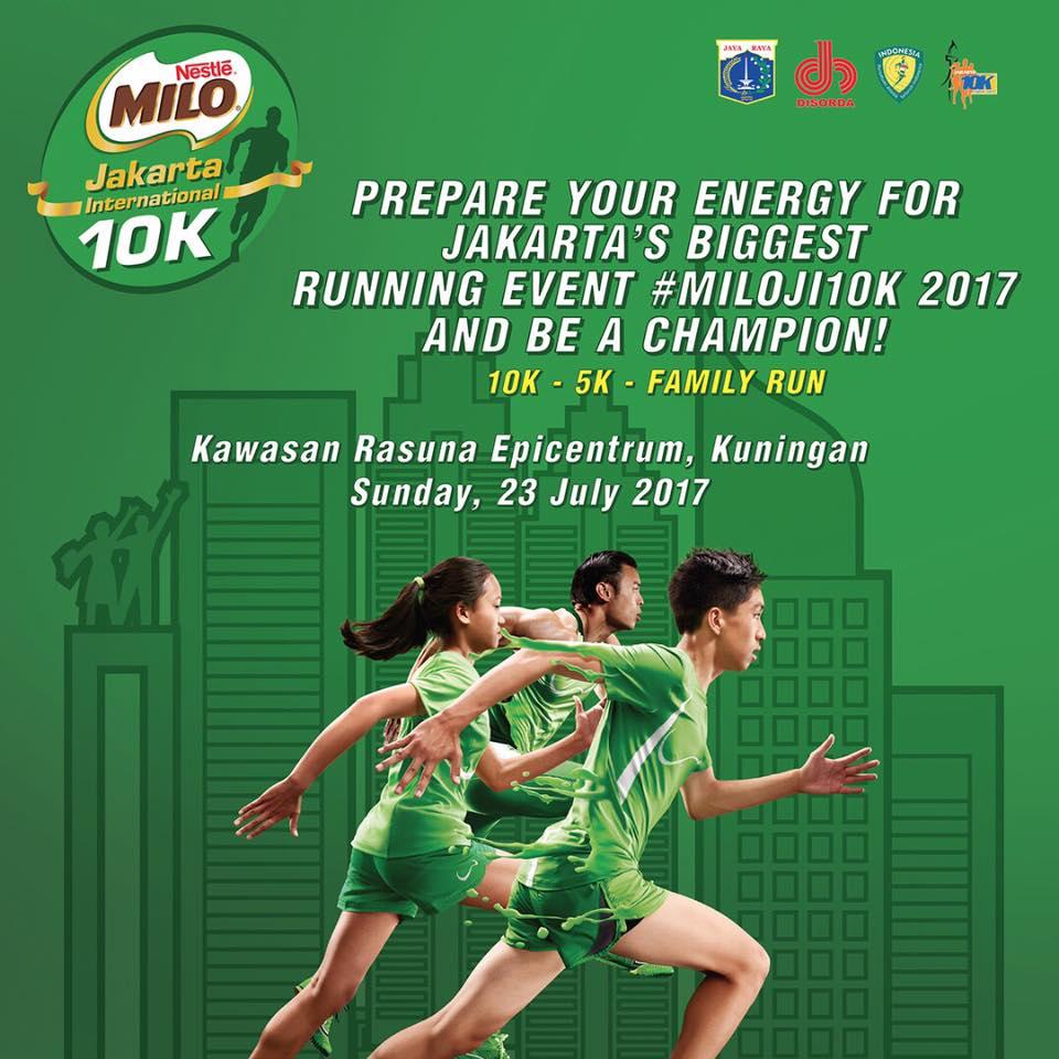 Milo Jakarta International 10K • 2017