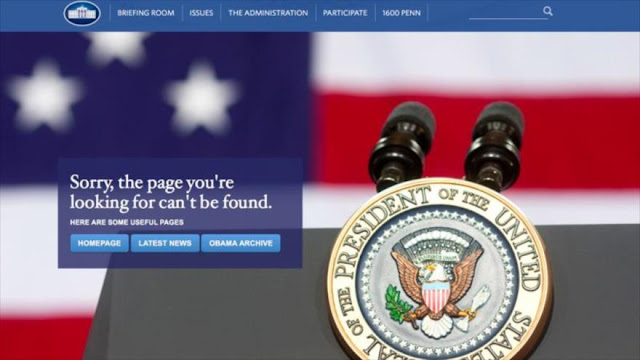 Madrid enojado por retirada del español de la Web de Casa Blanca
