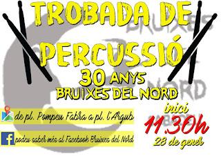 Trobada percussió Bruixes del Nord Sabadell