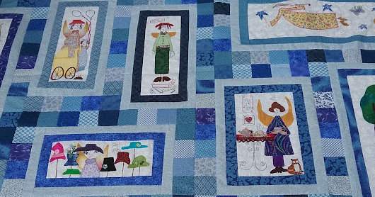 Angel Story Quilt update