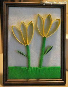 Ide membuat kerajinan kertas berbentuk bunga untuk anak-anak 4