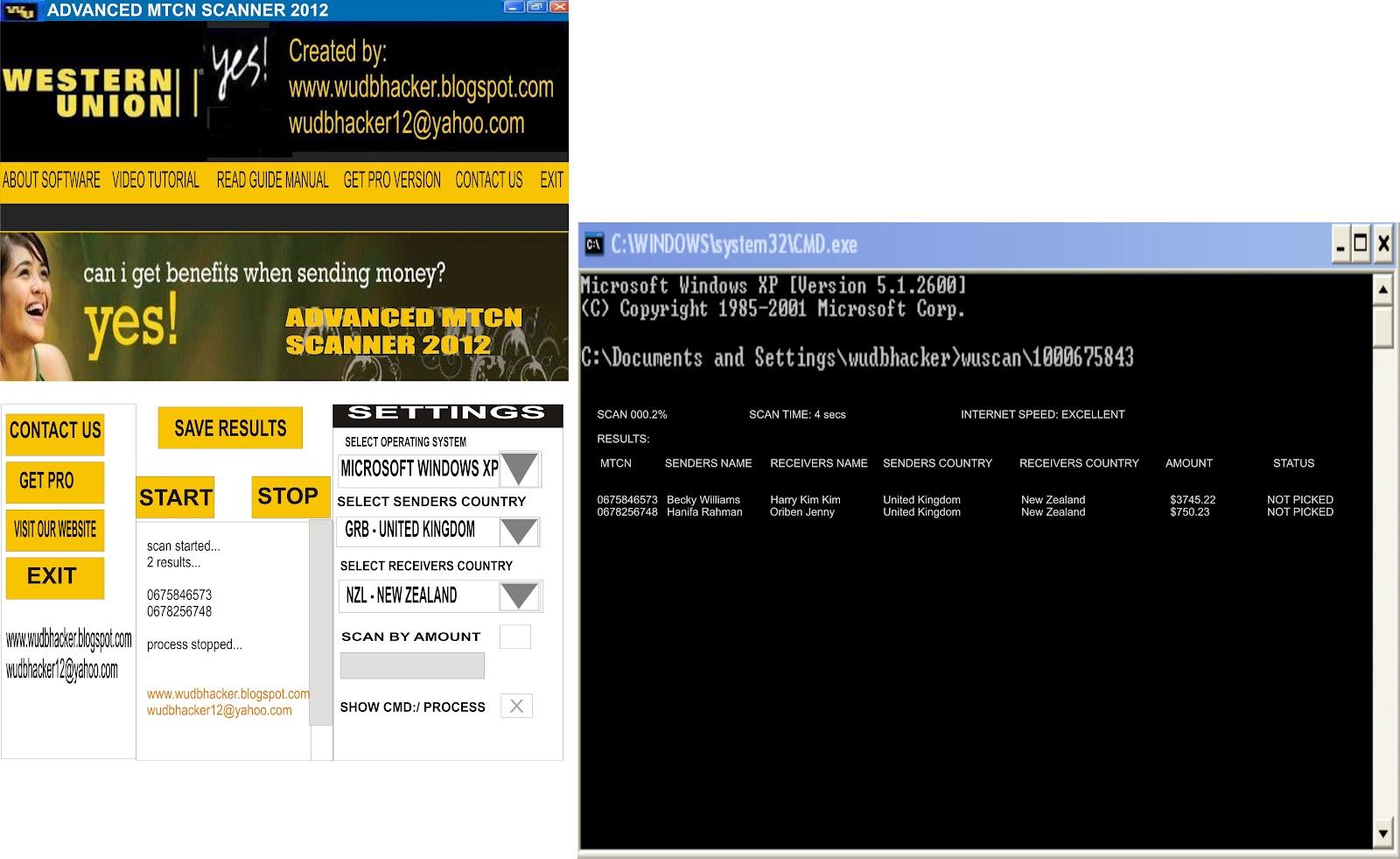 WESTERN UNION DATABASE HACKER || WUBUG: May 2012