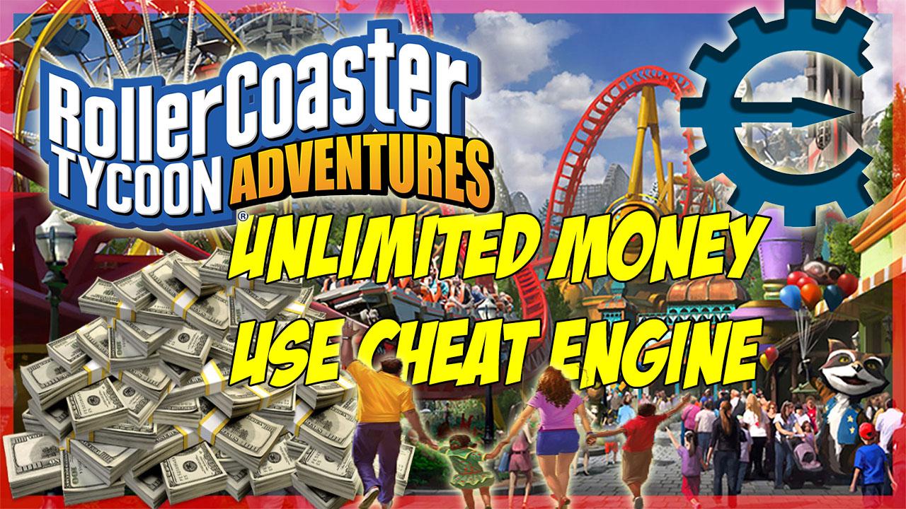 Rollercoaster tycoon 2 cheat engine
