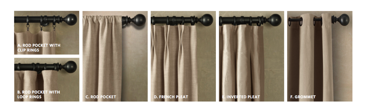Rod Pocket Curtain Rods BestCurtains