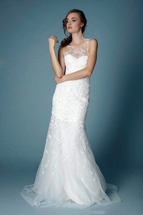 43ca849a71273 2015 autumn and winter white beautiful wedding dress selection: 2015 ...