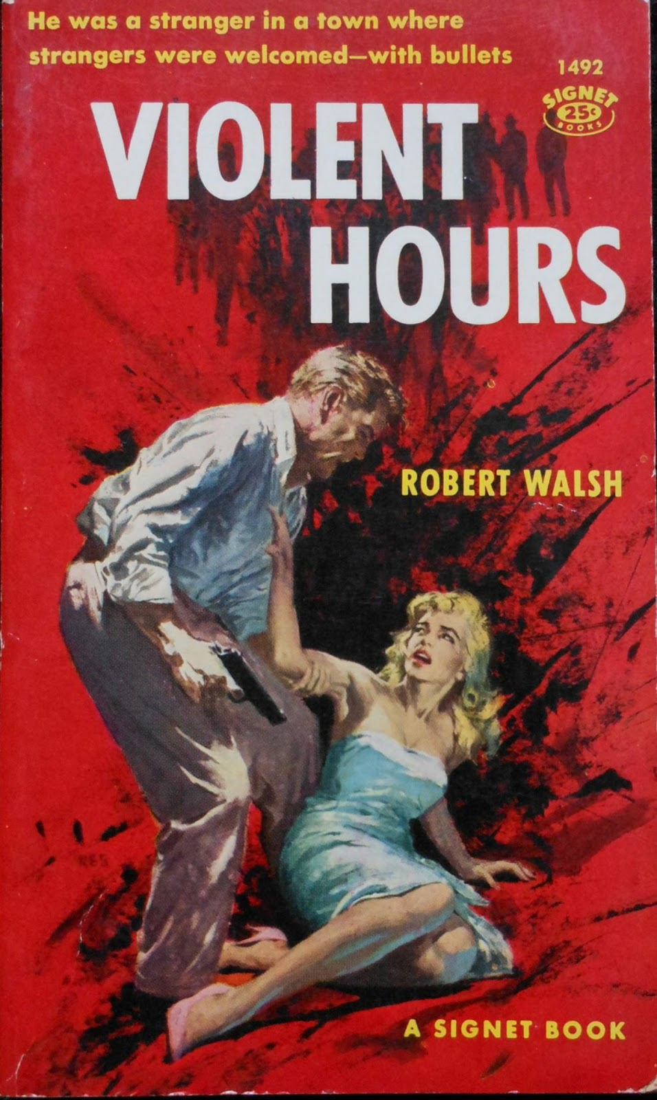 """I've been beating my head against the wall trying to learn anything useful  or interesting about the author of """"Violent Hours"""", Robert Walsh, but I've  been ..."""