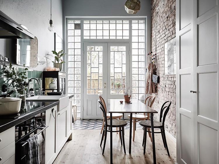 Interior cocina vintage tonalidades neutras virlova style for British home interiors