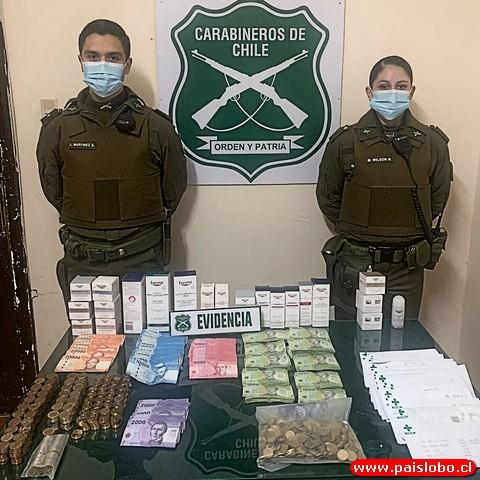 Sorprenden a ladrones de supermercado de madrugada en Osorno 🚨