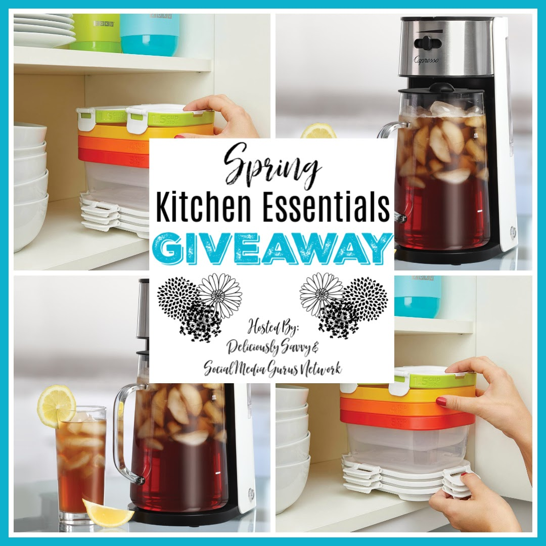 Spring Kitchen Essentials Giveaway