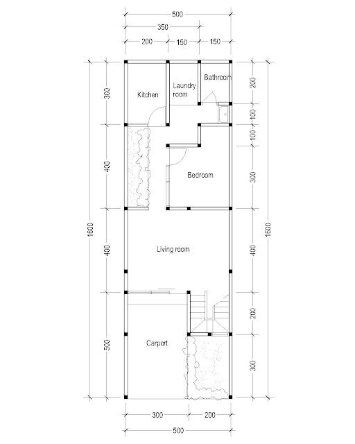 1st Floor Plan for Plan c-17