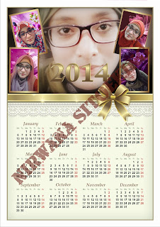 Free Vector Kalender 2014