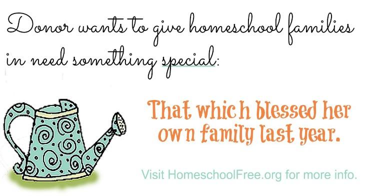 Donation #15 Recipient Report - Homeschool Curriculum Free