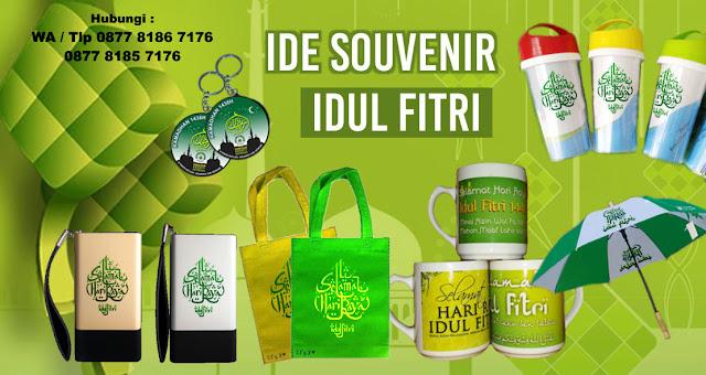 Ide Souvenir idul fitri, Souvenir Lebaran, Souvenir Tas custom Idul Fitri, Souvenir Mug Idul fitri, botol minum Idul Fitri