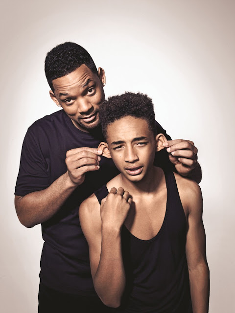 will smith with his son jaden smith