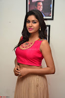 Akshita super cute Pink Choli at south indian thalis and filmy breakfast in Filmy Junction inaguration by Gopichand ~  Exclusive 008.JPG