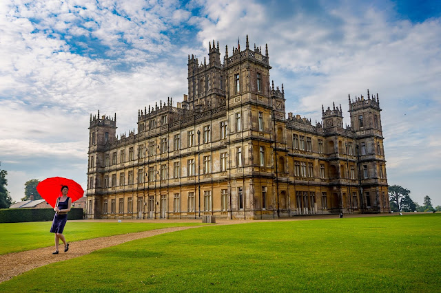 Jess Highclere Castle by Laurence Norah