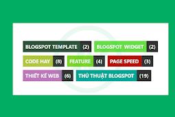 Code tạo màu nền ngẫu nhiên cho tiện ích Label trong Blogspot