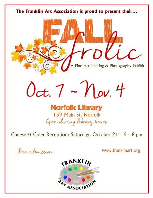Franklin Art Association: Fall Frolic - Oct 7 - Nov 4