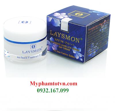 Kem Laysmon dưỡng trắng da ban ngày