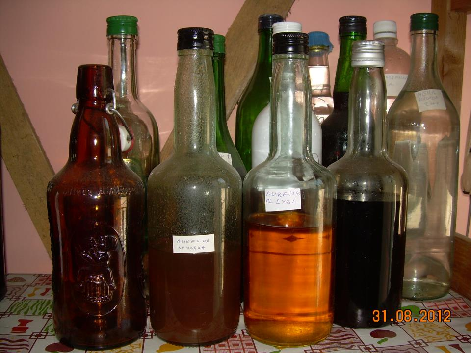 Pear Liqueur - recipe