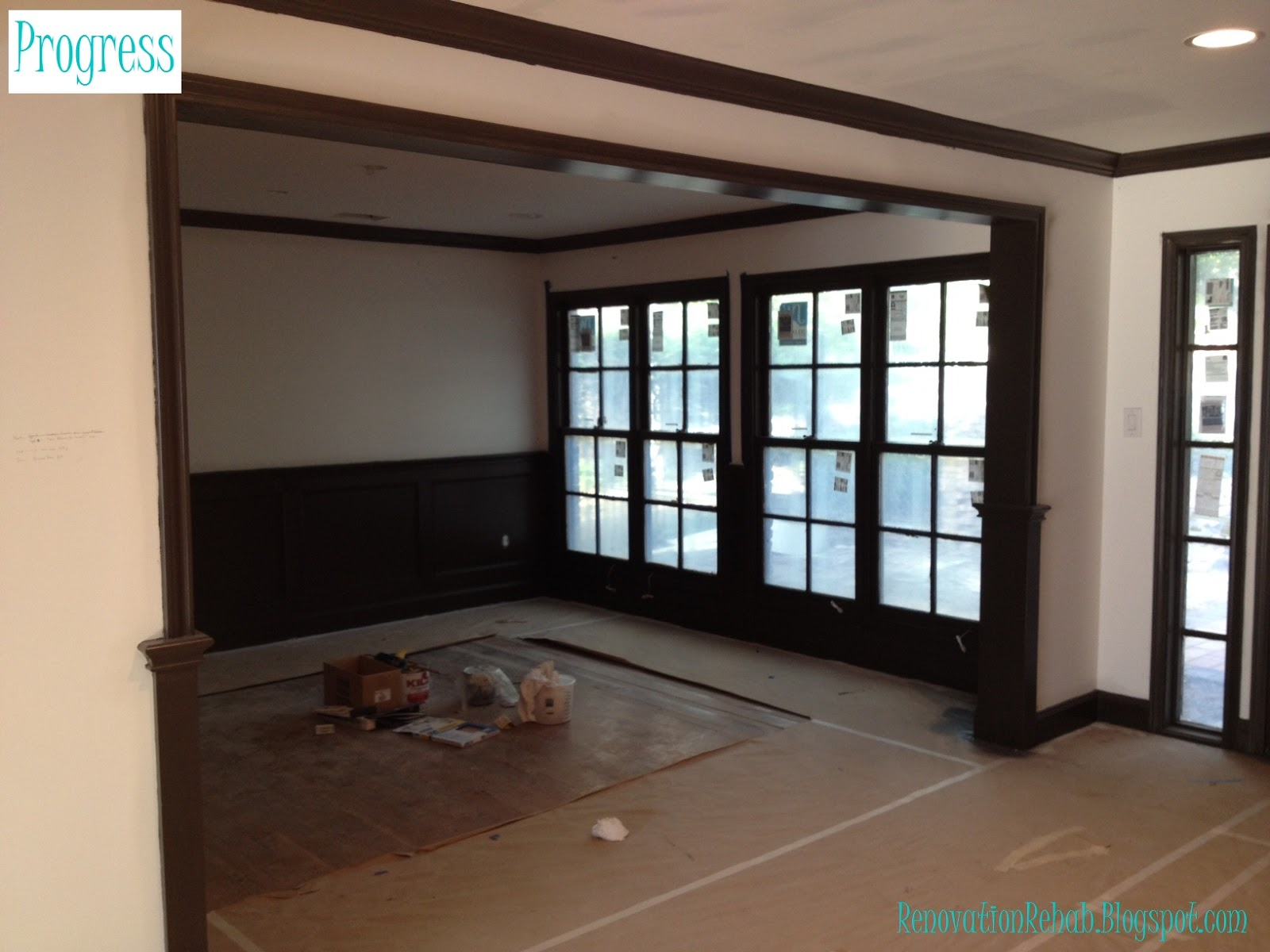 Brown Trim Paint Paint Color Ideas For Living Room With Dark Wood Trim