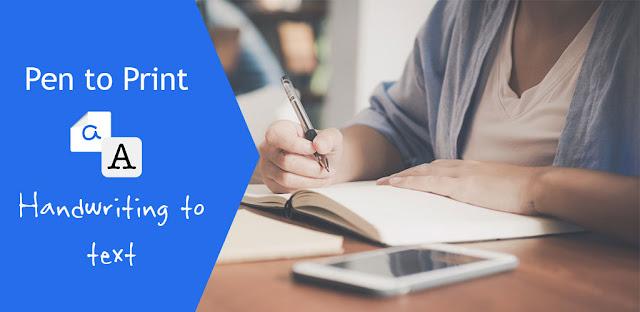 تحميل Pen to Print – Convert handwriting to text