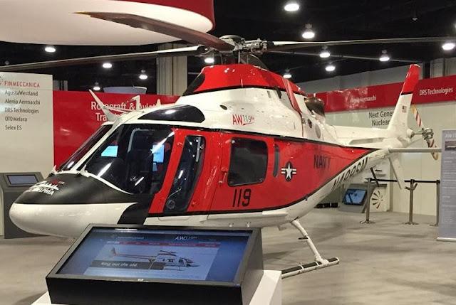 LEONARDO INTRODUCES THE TH-119 FOR US NAVY