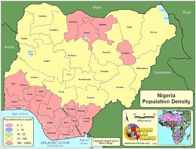 Picture: Most Populated States In Nigeria 2017(estimates)