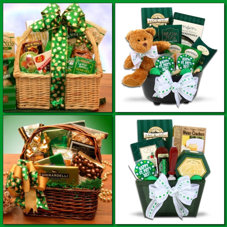 St. Patrick's Day Gift Basket Giveaway