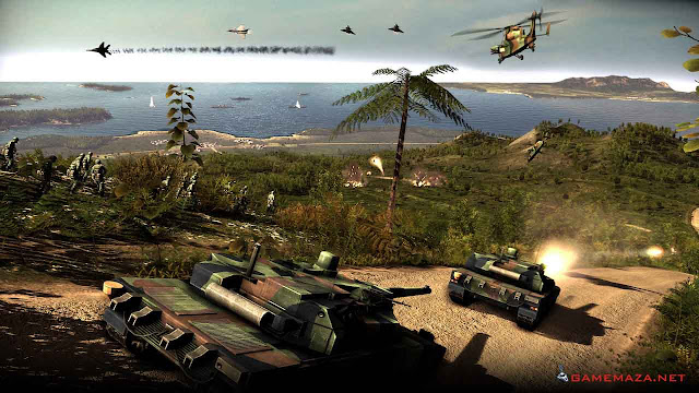 Wargame Red Dragon Gameplay Screenshot 2