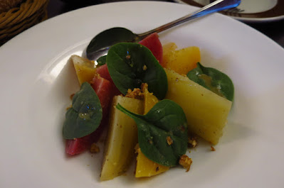 Le Bistrot Du Sommelier, beet salad