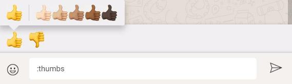 Recherchez des émoticônes avec votre clavier sur WhatsApp Web