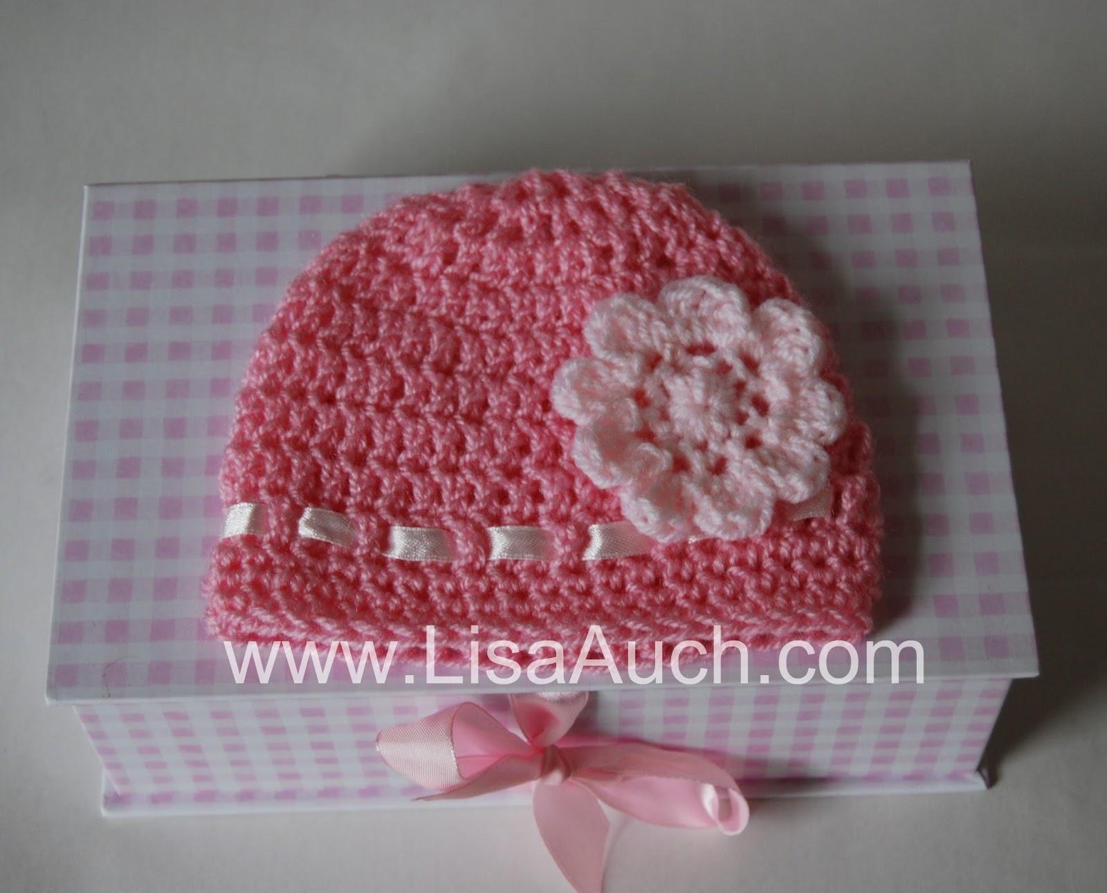 61010f1d89d Double Crochet Baby Beanie Hat Pattern 12-18 months (1- 1 1 2 year Old)  FREE Crochet Pattern