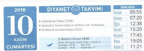 Diyanet'in Atatürk Sevgisi