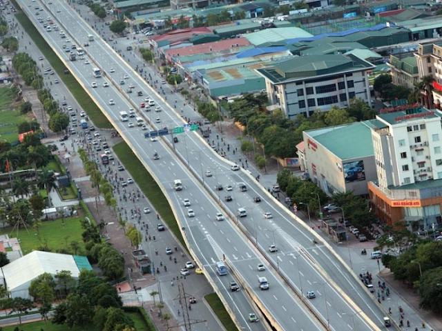 Phê duyệt quy hoạch tuyến đường bộ trên cao Ngã Tư Sở - Vĩnh Tuy