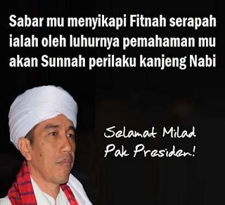 Tanggal dan Hari Ulang Tahun Pak Jokowi