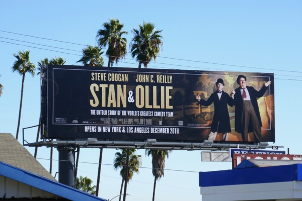 Stan and Ollie film billboard