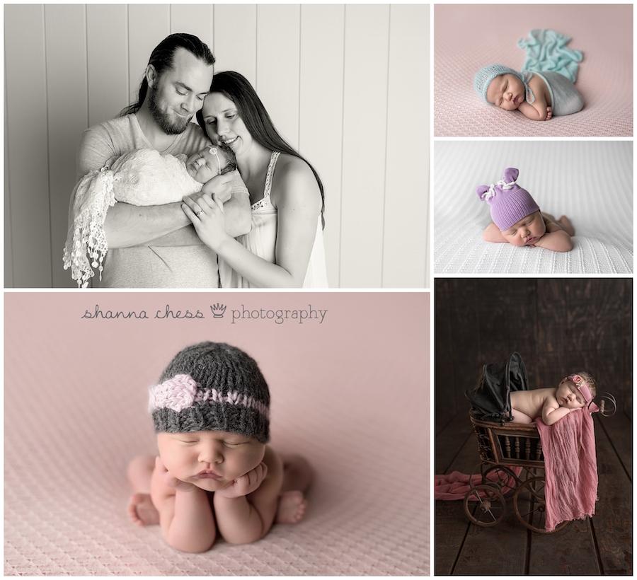 eugene oregon newborn photography family