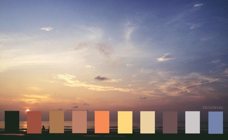 color palette, miri sarawak