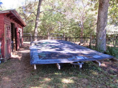 5 Acres Amp A Dream Make Do Improvements On The Goat Shed
