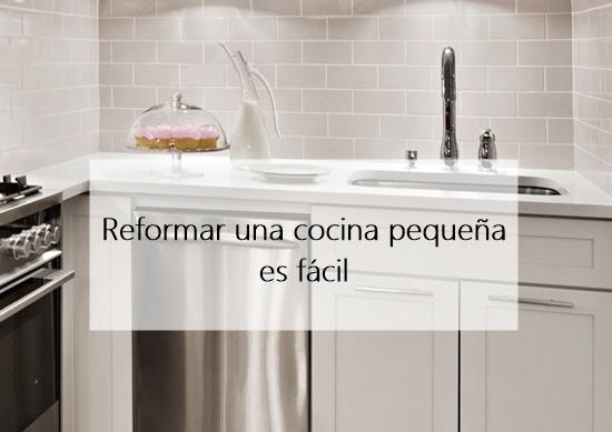 Reforma una cocina peque a cocochicdeco - Reformar cocina pequena ...