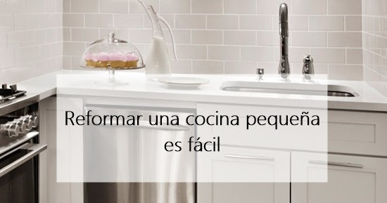 Reforma una cocina peque a cocochic deco - Reformar cocina pequena ...