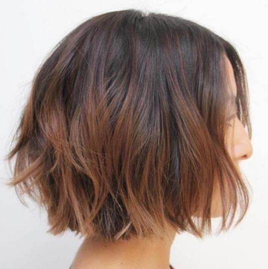 Balayage de pelo corto es una forma magnífica, moda a reimaginar pelo corto. Sólo se trata de ninguna manera estilo tu cabello se verá muy chic con muy