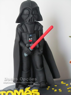 start was darth vader fondant