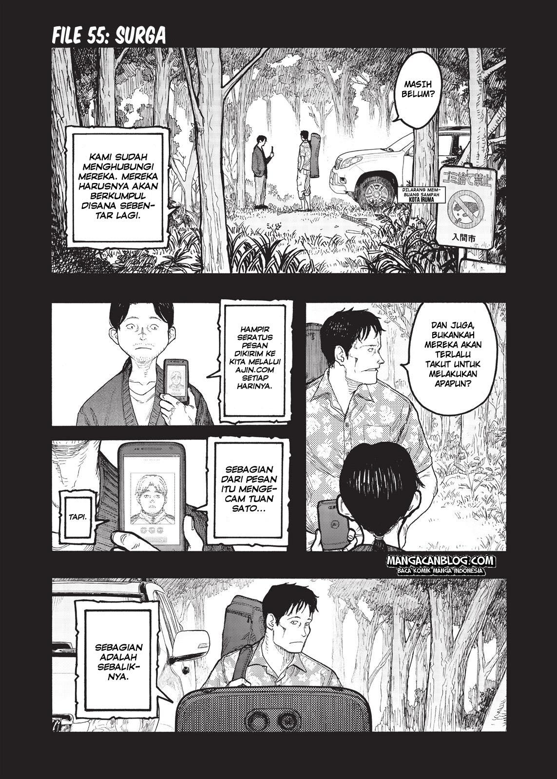 Ajin Chapter 55-2