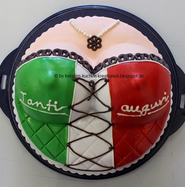 Kerstins Kuchen Kreationen Busentorte Kuchen