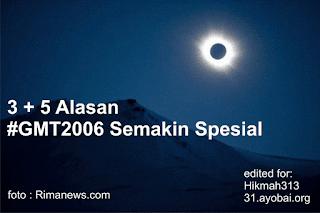 sahabat indonesia berubah 3 + 5 Alasan Gerhana Matahari Total 2016 semakin Spesial