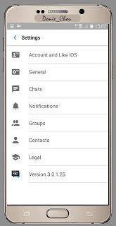 Tema BBM MOD Like iOS v3.3.6.51 Apk 2