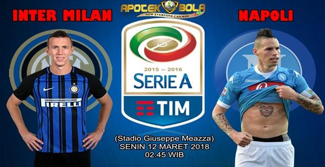 Prediksi Inter vs Napoli 12 Maret 2018