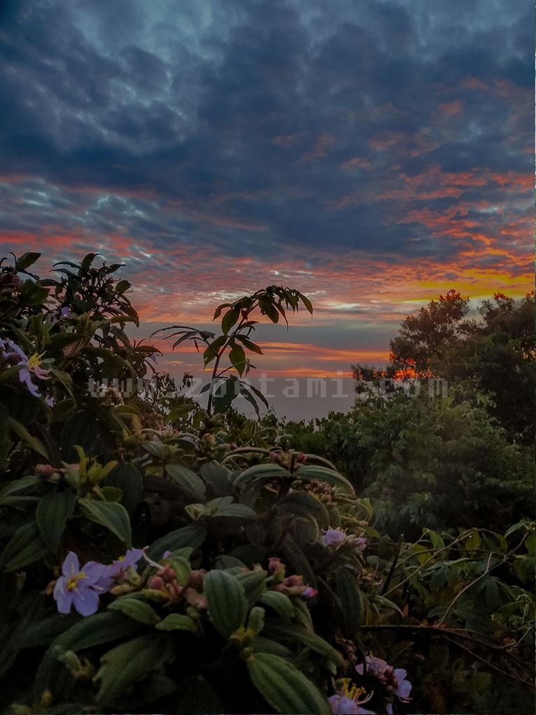 Sunrise Gunung Salak